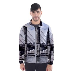 City Skyline Skyline City Cityscape Wind Breaker (men)