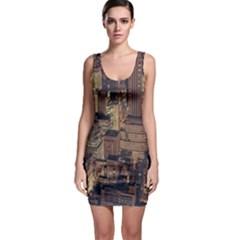 New York City Skyline Nyc Bodycon Dress