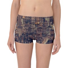 New York City Skyline Nyc Boyleg Bikini Bottoms
