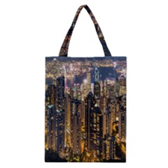 Panorama Urban Landscape Town Center Classic Tote Bag