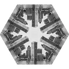 Architecture City Skyscraper Mini Folding Umbrellas
