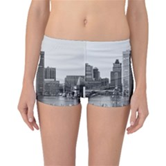 Architecture City Skyscraper Boyleg Bikini Bottoms