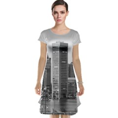 Architecture City Skyscraper Cap Sleeve Nightdress