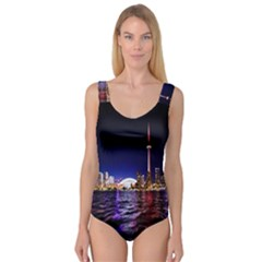 Toronto City Cn Tower Skydome Princess Tank Leotard