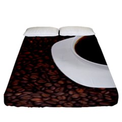 Coffee Fitted Sheet (king Size)