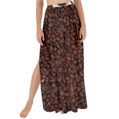 Coffee Maxi Chiffon Tie Up Sarong