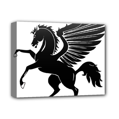 Peo Pegasus Black  Deluxe Canvas 14  X 11