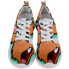 Surprised Chipmunk Face Vector Art Men s Lightweight Sports Shoes