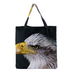 Bald Eagle Portrait  Grocery Tote Bag