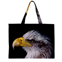 Bald Eagle Portrait  Zipper Mini Tote Bag