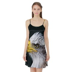 Bald Eagle Portrait  Satin Night Slip
