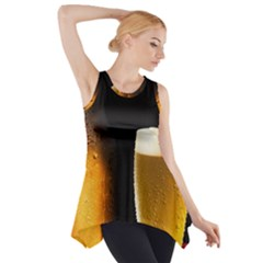 Cold Beer Side Drop Tank Tunic