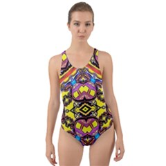 Spirit Of Ireland Cut Out Back One Piece Swimsuit
