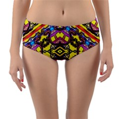 Spirit Of Ireland Reversible Mid Waist Bikini Bottoms