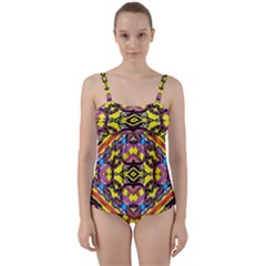 Spirit Of Ireland Twist Front Tankini Set
