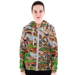 Coral Tree Women s Zipper Hoodie