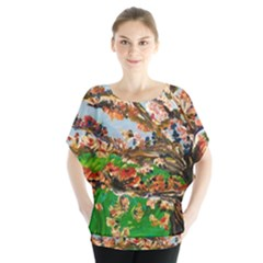Coral Tree Blouse
