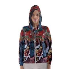 Chochloma Hooded Wind Breaker (women)