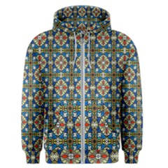 Artwork By Patrick Colorful 42 Men s Zipper Hoodie