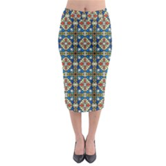 Artwork By Patrick Colorful 42 Midi Pencil Skirt