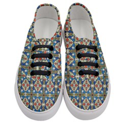 Artwork By Patrick Colorful 42 Women s Classic Low Top Sneakers