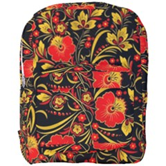 Native Russian Khokhloma Full Print Backpack