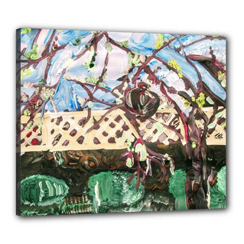 Blooming Tree 2 Canvas 24  X 20