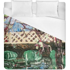 Blooming Tree 2 Duvet Cover (king Size) by bestdesignintheworld