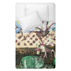 Blooming Tree 2 Duvet Cover Double Side (single Size) by bestdesignintheworld