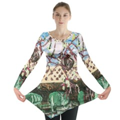 Blooming Tree 2 Long Sleeve Tunic  by bestdesignintheworld