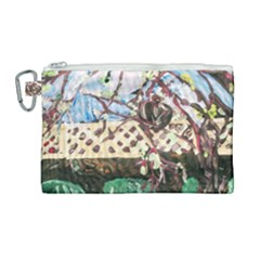 Blooming Tree 2 Canvas Cosmetic Bag (large) by bestdesignintheworld