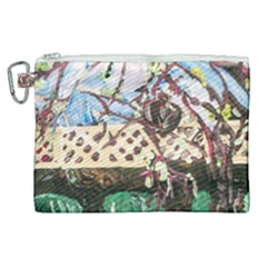 Blooming Tree 2 Canvas Cosmetic Bag (xl) by bestdesignintheworld