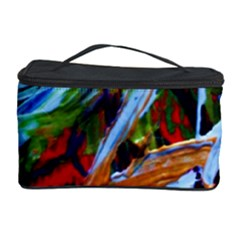 Blue Flamingoes 4 Cosmetic Storage Case