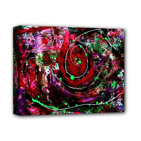 Bloody Coffee 7 Deluxe Canvas 14  X 11  by bestdesignintheworld
