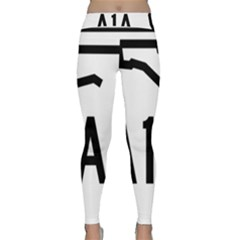 Florida State Road A1a Classic Yoga Leggings by abbeyz71