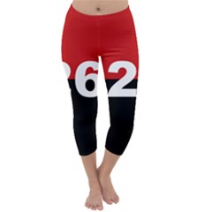 The 26th Of July Movement Flag Capri Winter Leggings