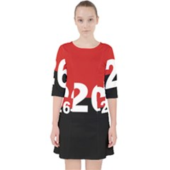 The 26th Of July Movement Flag Pocket Dress