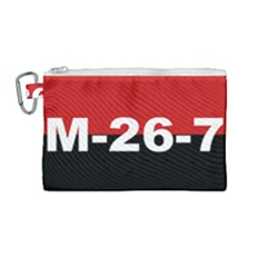 The 26th Of July Movement Flag Canvas Cosmetic Bag (medium) by abbeyz71