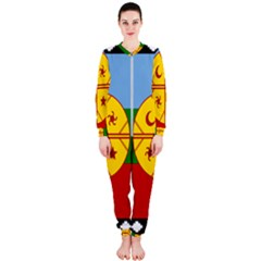 Flag Of The Mapuche People Onepiece Jumpsuit (ladies)
