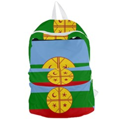 Flag Of The Mapuche People Foldable Lightweight Backpack
