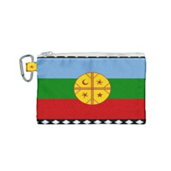 Flag Of The Mapuche People Canvas Cosmetic Bag (small)