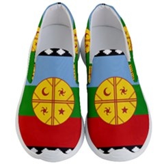 Flag Of The Mapuche People Men s Lightweight Slip Ons
