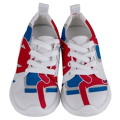 No Manspreading Sign Kids  Lightweight Sports Shoes