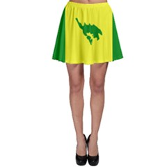 Flag Of Culebra Skater Skirt