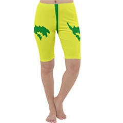 Flag Of Culebra Cropped Leggings