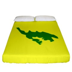 Flag Of Culebra Fitted Sheet (king Size)