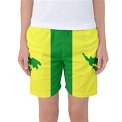 Flag Of Culebra Women s Basketball Shorts