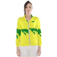 Flag Of Culebra Wind Breaker (women)