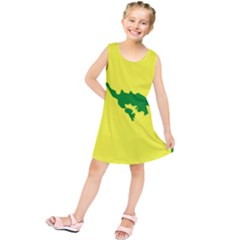 Flag Of Culebra Kids  Tunic Dress