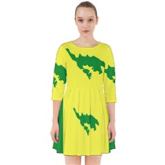 Flag Of Culebra Smock Dress
